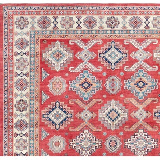 Pasargad Home Kazak Hand Knotted Wool Rug - 12′3″ × 15′5″ Preview