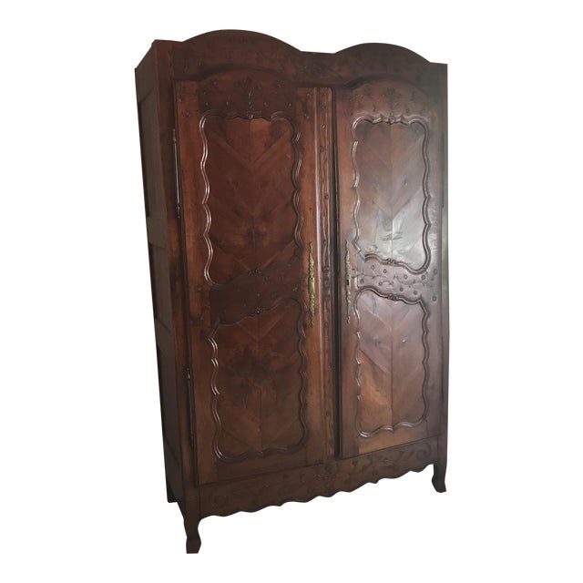 Antique French Armoire - Image 1 of 4