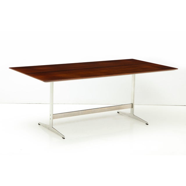 Arne Jacobsen Rosewood Dining Table for Fritz Hansen For Sale - Image 12 of 12