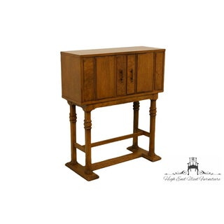 20th Century Traditional Ridgeway Solid Oak Storage Cabinet/Bar Preview