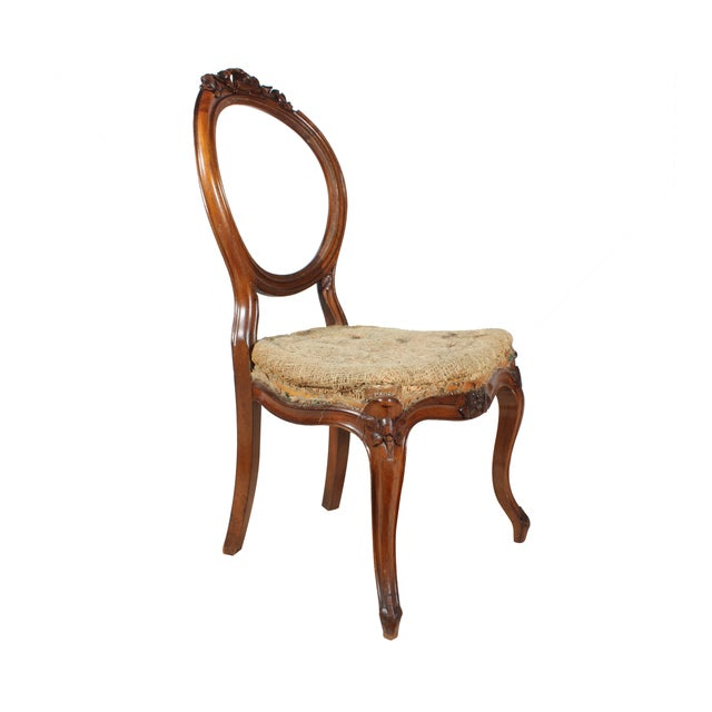 Deconstructed French Hall Chair - Image 2 of 4