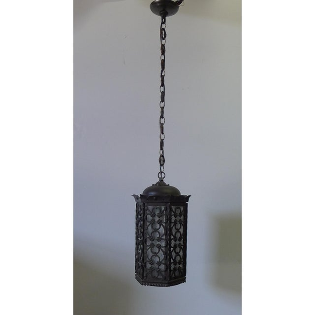 Gothic Gothic Style Lantern Pendant For Sale - Image 3 of 11