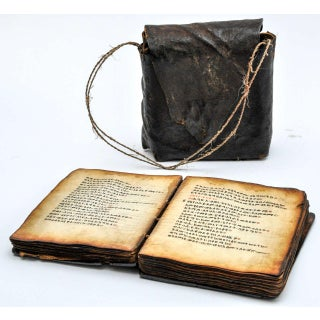 19th Century Coptic Bible in Wood With Leather Case Preview