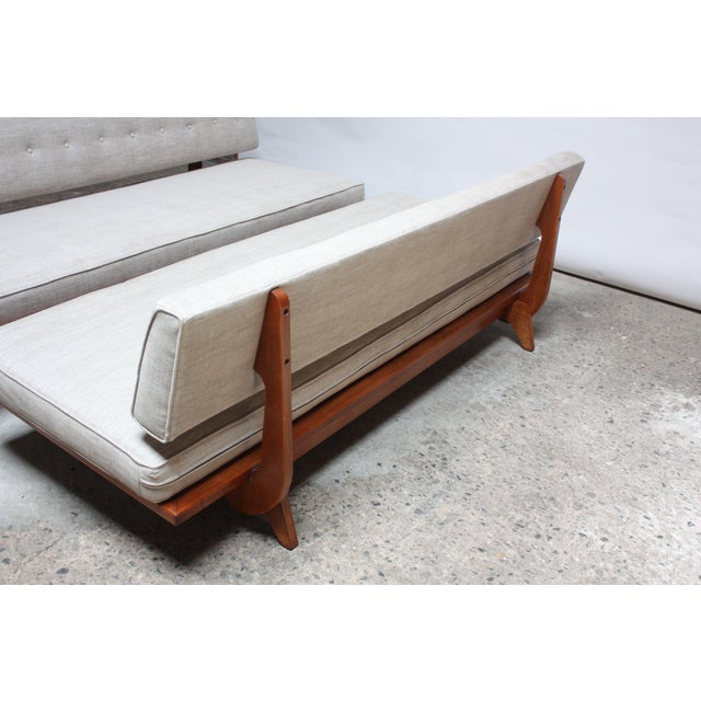 Pair of Daybed Sofas by Richard Stein for Knoll - Image 7 of 11