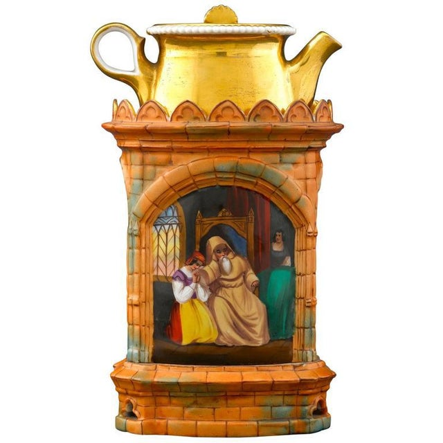 French Gothic Church Veilleuse For Sale - Image 3 of 3
