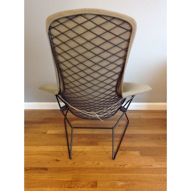 Harry Bertoia for Knoll Bird Chair & Ottoman For Sale - Image 5 of 10