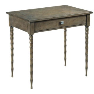 Woodbridge Faux-Bamboo Leg Fulton Side Table For Sale