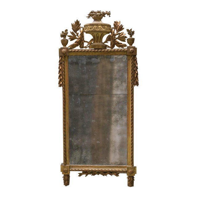 Louis XVI , Caved Gilt Wood For Sale