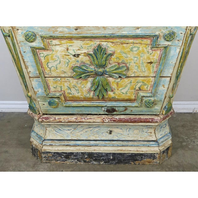 Mid 19th Century 19th Century Italian Painted Altar Table For Sale - Image 5 of 10