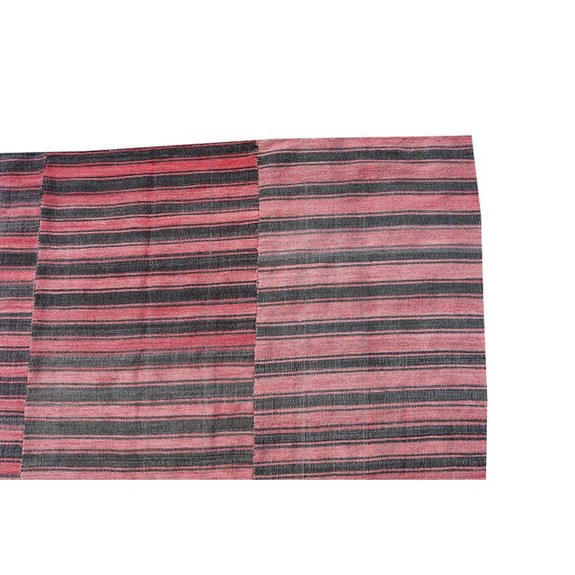 This Vintage Turkish textile is a one of a kind, made of all natural material such as wool, linen, and cotton blends. We...
