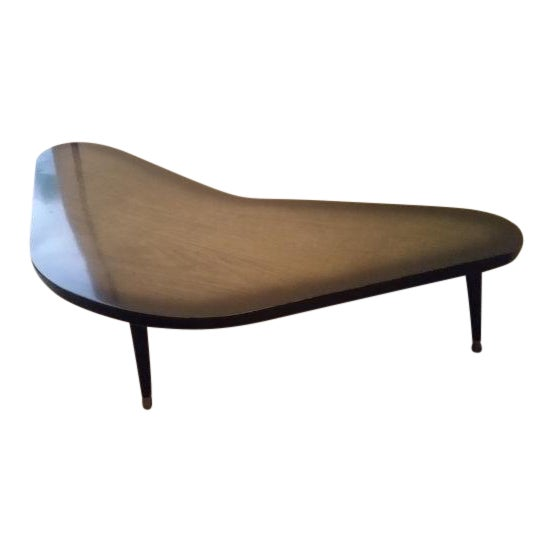 Mid-Century Modern Atomic Boomerang Table - Image 1 of 5