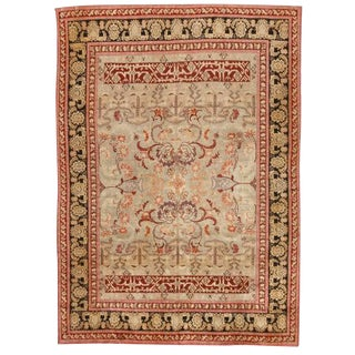 Antique 19th Century English Carpet For Sale