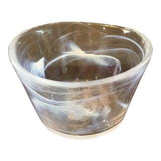 Kosta Boda Large 'Mine' Centerpiece Bowl with Maker's Mark For Sale