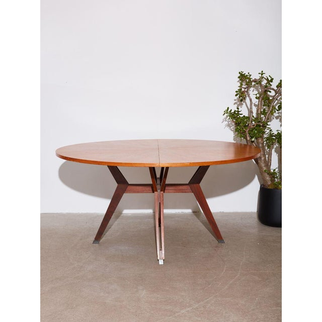 1960s Vintage 1960s Ico Parisi Dining Table and Chairs Set For Sale - Image 5 of 8