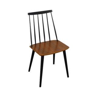 Danish Modern Teak Side Chair by Farstrup For Sale