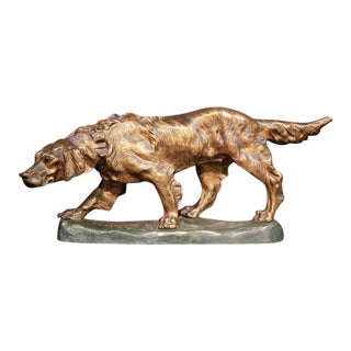 French Bronze Hunting Dog For Sale