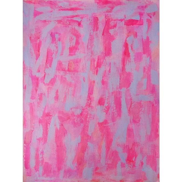 "Susie Kate ""Pink Pink #11"" Original Painting - Image 1 of 2"