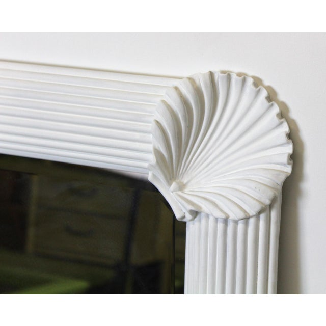 Modern Mid Century Nautical Shell Mirror For Sale - Image 3 of 7