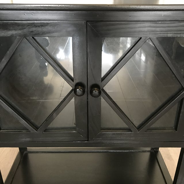 Black Contemporary Entryway Cabinet - Image 5 of 6