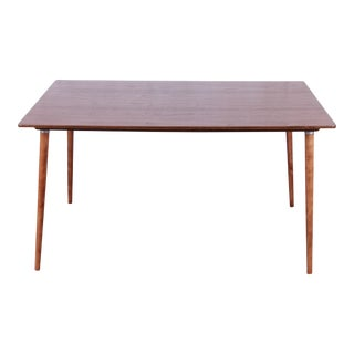 Early Charles Eames for Herman Miller Dtw-3 Dining Table, Newly Refinished For Sale