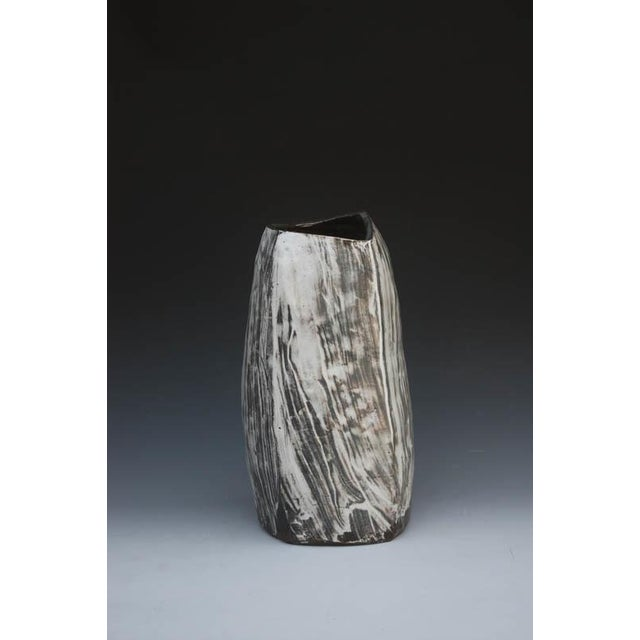 Contemporary Kang Hyo Lee, Puncheong Jar With Ash Glaze 6, Ca. 2012 For Sale - Image 3 of 3