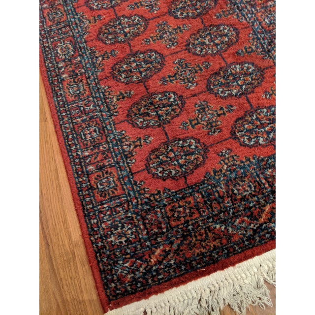 "Tribal Karastan Bokhara Rug (2'-2"" X 4'-0"") For Sale - Image 3 of 9"