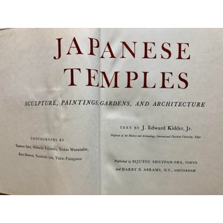 Japanese Temples: Sculpture, Paintings, Gardens and Architecture Book Preview