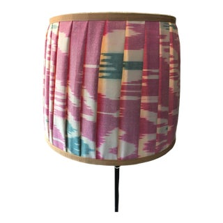 Mary Jane McCarty Collection Ikat Lampshade For Sale