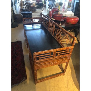 1920s Chippendale Bamboo Bench Preview