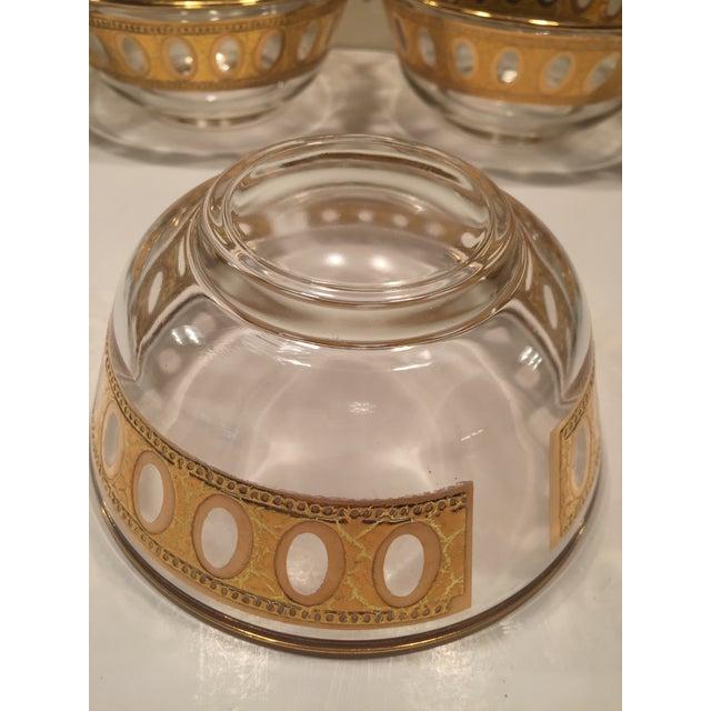 Culver Antigua 22k Gold Dessert Bowls - Set of 8 - Image 4 of 9
