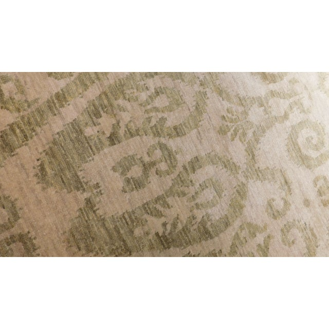Transitional Hand-Knotted Luxury Rug - 9' x 12' - Image 2 of 3
