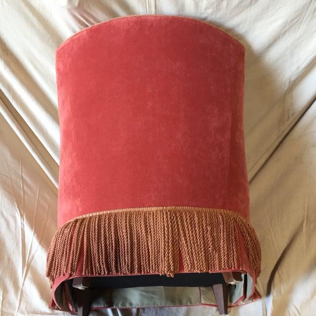Textile Vintage Council Furniture Down Wrap Chair For Sale - Image 7 of 9