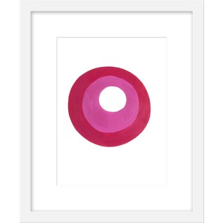 "Small ""Plum Jam"" Print by Neicy Frey, 17"" X 21"" For Sale"