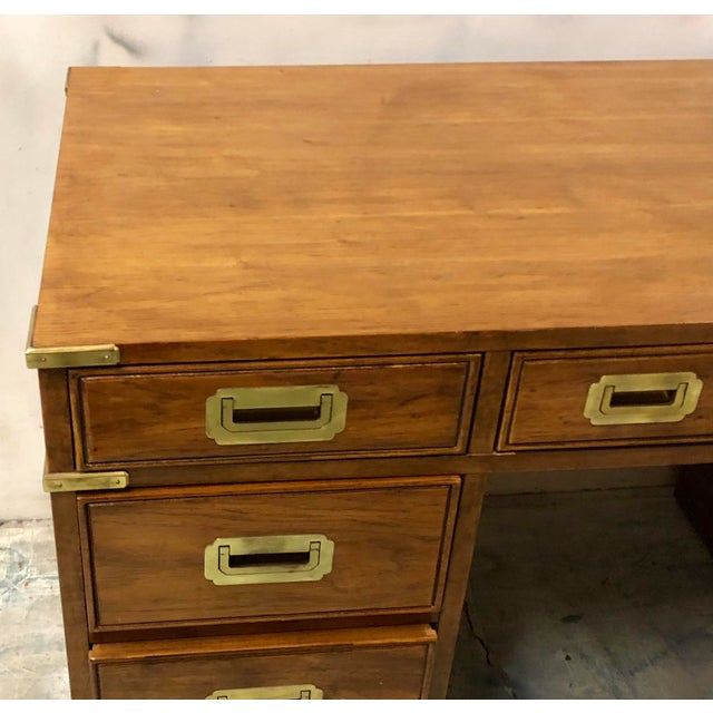 National Mt Airy Campaign Style Desk Image 4 Of 7