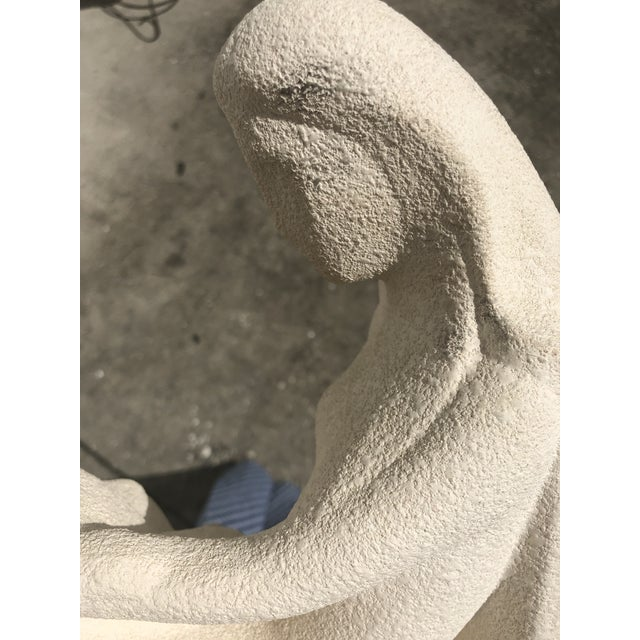 Haeger Vintage Sculpture, Woman With Child For Sale - Image 4 of 7