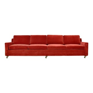 Harvey Probber Double Arm Sofa For Sale