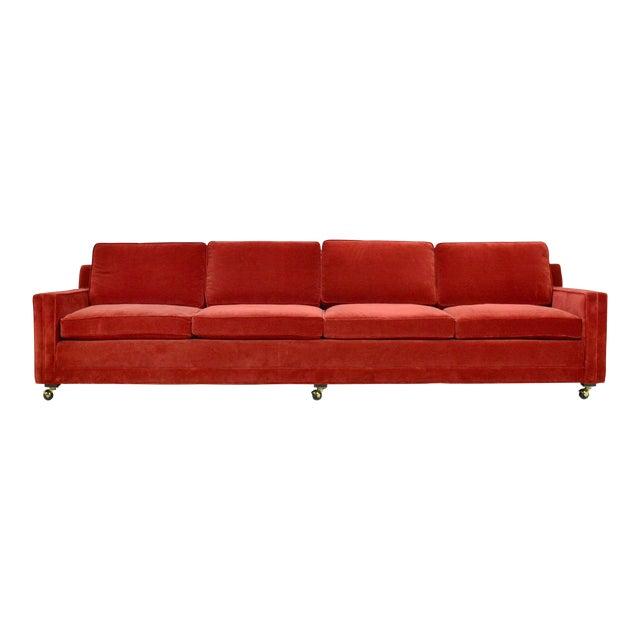 Harvey Probber Double Arm Sofa For Sale