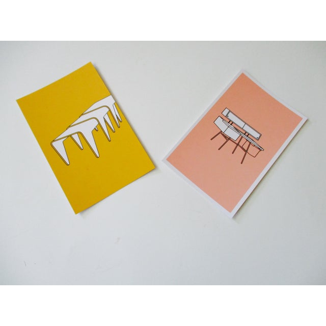 Mid-Century Modern Chair Postcards & Other Iconic Products - Set of 15 - Image 7 of 10