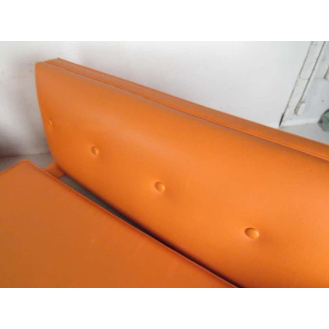 Metal Mid-Century Modern Three-Piece Sectional Sofa For Sale - Image 7 of 13