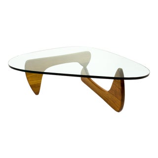 Early Noguchi for Herman Miller Glass Coffee Table