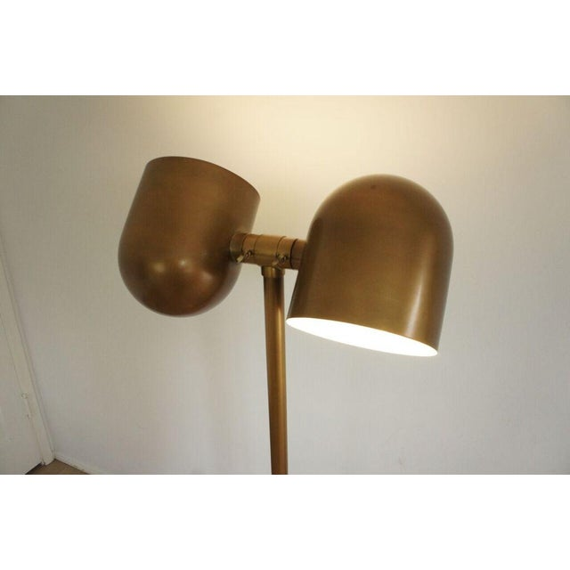 Brass Floor Lamp - Image 5 of 8