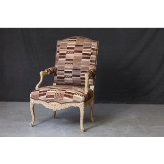Louis XV Style Fauteuil by Sally Sirkin Lewis for J. Robert Scott Preview