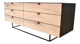 Image of Leather Credenzas and Sideboards