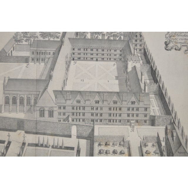 Rare Birdseye View of Wadham College Engraving - Image 8 of 10