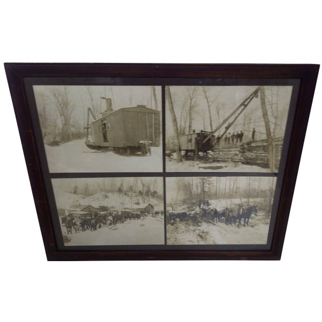 Boyne City, Michigan Logging Photography For Sale