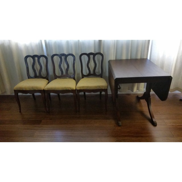 Duncan Phyfe-Style Craddock Dining Set For Sale - Image 5 of 7