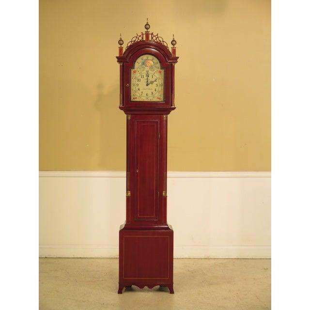 Sligh Simon Willard Roxbury Grandfather Clock - Image 10 of 10