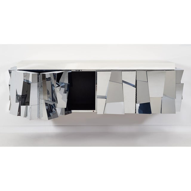 Paul Evans Cityscape ii Faceted Console, model PE370, 1973 For Sale In New York - Image 6 of 8
