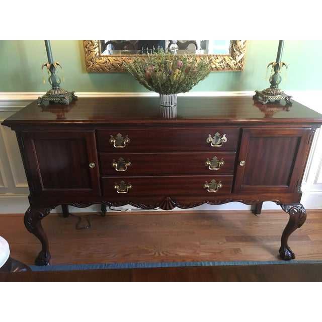 Queen Anne Classic Sideboard For Sale - Image 5 of 5