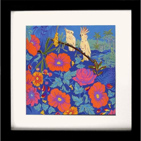 2000 - 2009 Tropical Bird I Original Painting For Sale - Image 5 of 6